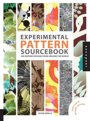 Jackie Herald, «Experimental Pattern Sourcebook: 300 Inspired Designs from Around the World (+DVD-ROM)» - обложка книги