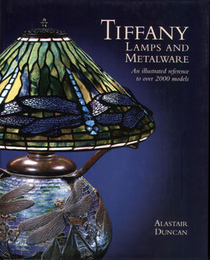 Alastair Duncan, «Tiffany Lamps and metalware» - обложка книги