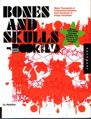 ricorico, «Bones and Skulls. Book and DVD» - обложка книги