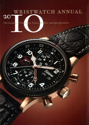 Peter Braun and Elizabeth Doerr, «Wristwatch Annual 2010» - обложка книги