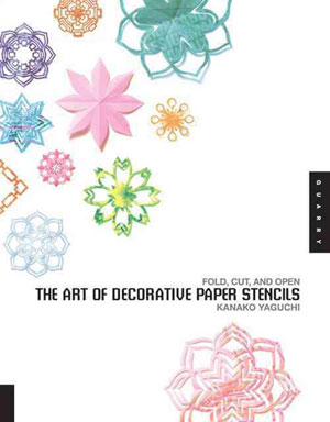 Yaguchi Kanako, «Art of decorative paper stencils» - обложка книги