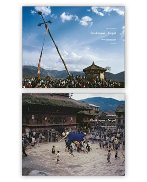 Niels Gutschow, «Bhaktapur - Nepal. Urban space and ritual» - обложка книги