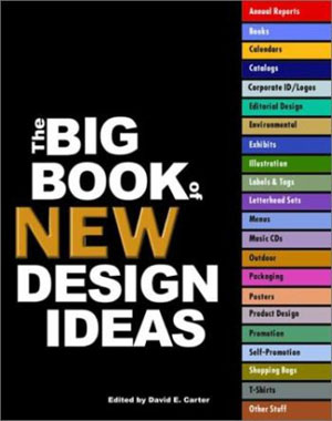 David E. Carter, «Big Book of New Design Ideas» - обложка книги