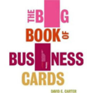 David E. Carter, «Big Book of Business Cards» - обложка книги