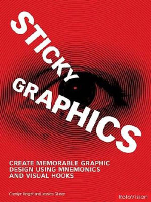 C. Knight and J.Glaser, «Sticky Graphics» - обложка книги