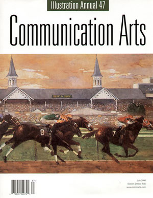 сборник, «Communication Arts. Illustration Annuals CA 47» - обложка книги