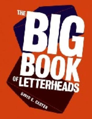 David E. Carter, «Big Book of Letterheads» - обложка книги