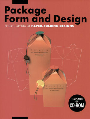 Natsumi Akabane, «Package Forms and Design - Encyclopedia of Paper-Folding Design Vol. 3» - обложка книги