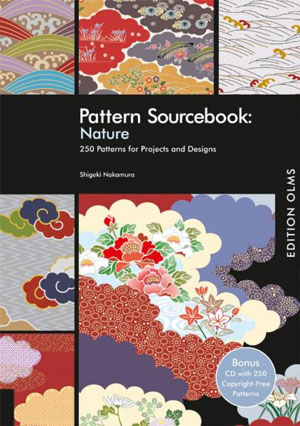 Shigeki Nakamura, «Pattern Sourcebook: Patterns From Nature (+ CD-ROM)» - обложка книги