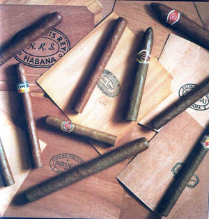 Vahe Gerard, «Cigars: The Art of Cigars; The World`s Finest Cigars» - страница из книги