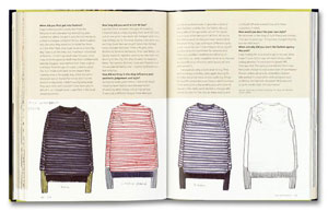 Anne-Celine Jaeger, «Fashion Makers Fashion Shapers. The Essential Guide to Fashion by Those in the Know» - страница из книги